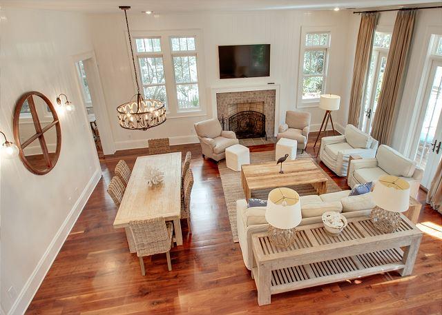 First Floor: Great Room
