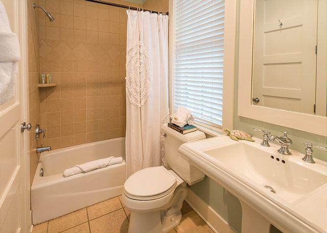 Second Floor: Full Bedroom Private Bathroom