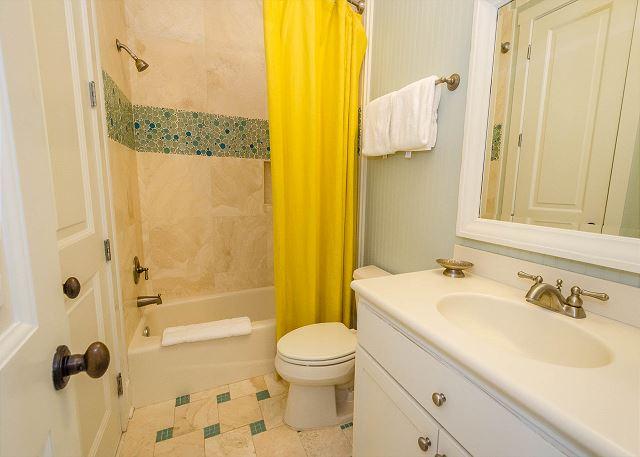 Second Floor: Private Bunk Room Bathroom