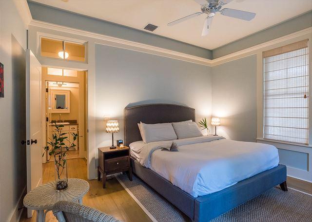 First Floor: King Bedroom