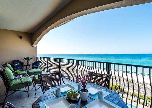 Balcony with Gulf Views