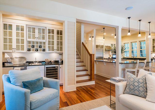 First Floor: Open Floor Plan
