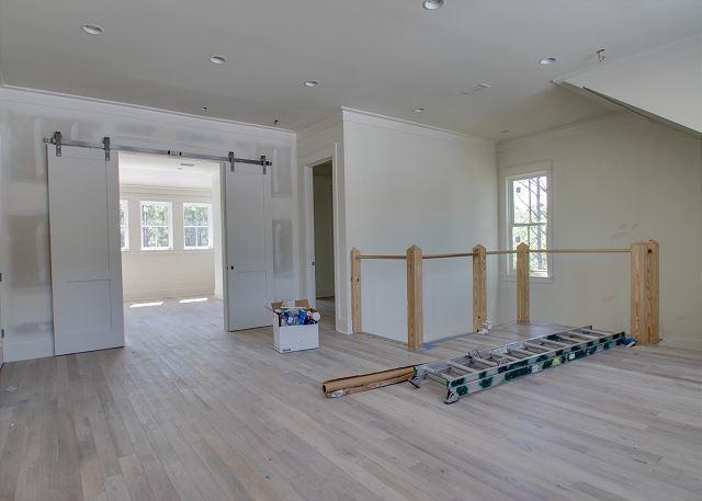 Third Floor: Second Living Area
