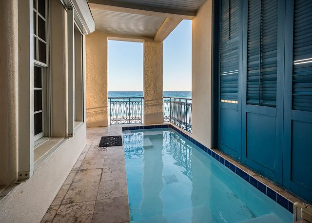 Private Pool with Gulf View