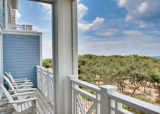 Porch with Gulf Views