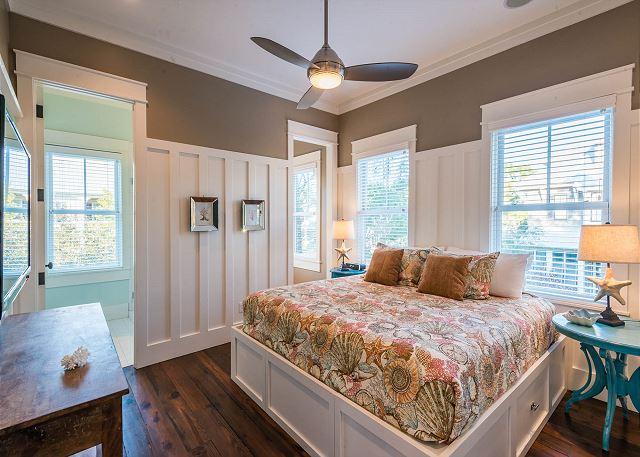 Second Floor: Guest Master Bedroom