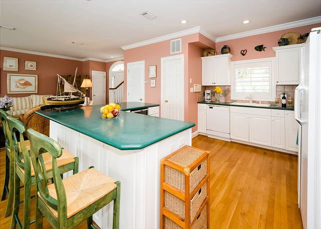 Kitchen and Island Seating
