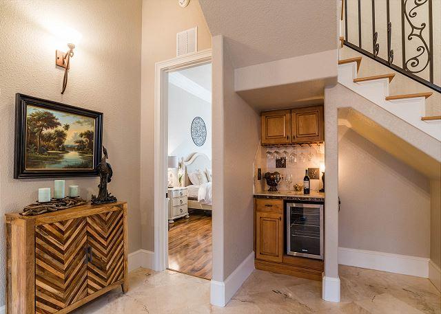 First Floor: Light Filled Master Bedroom off Hallway