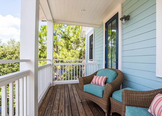 Second Floor: Master Porch