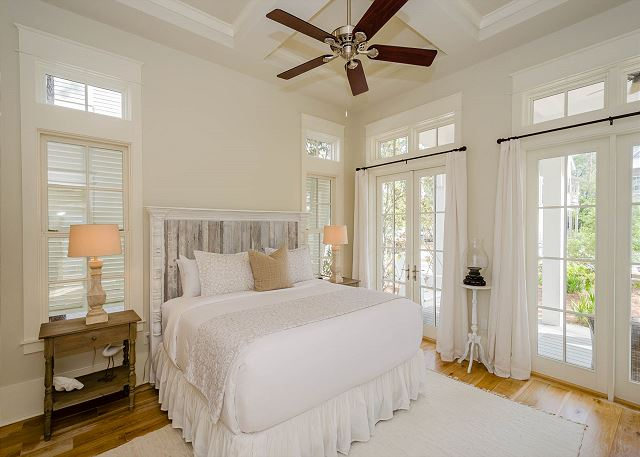 First Floor: Master King Bedroom