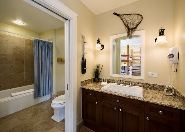 Private Bathroom with Shower/Tub Combo