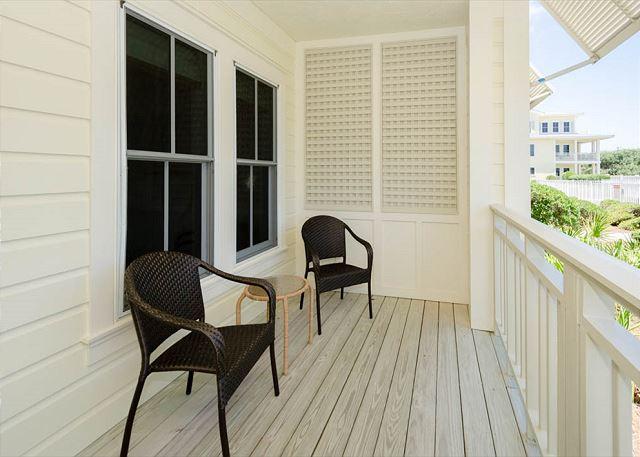 Balcony with Pool and Gulf Views