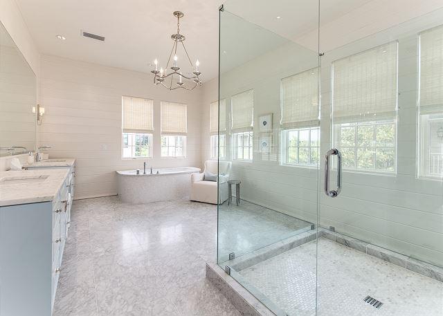 Second Floor: Master Suite Bathroom