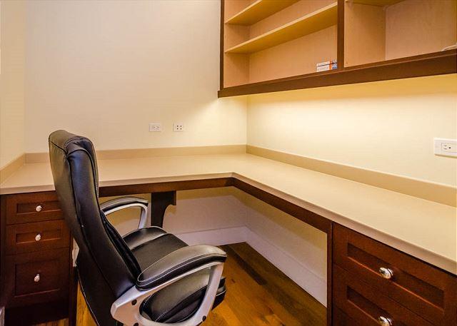 First Floor: Office