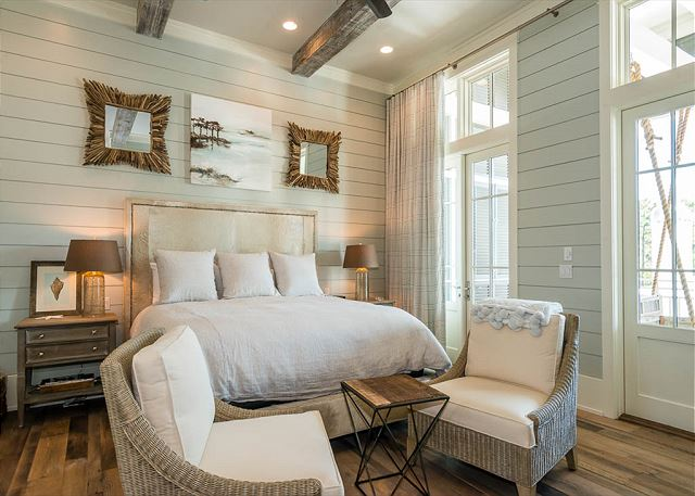 Second Floor: Master Bedroom with Private Bathroom and Office