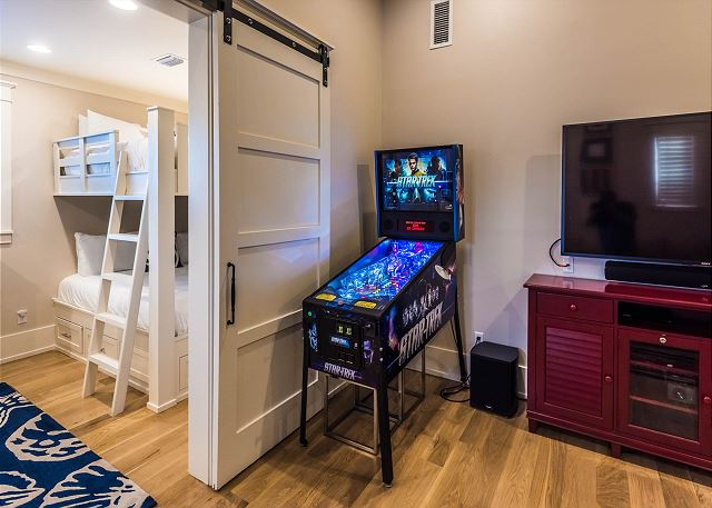 Third Floor: Game Room