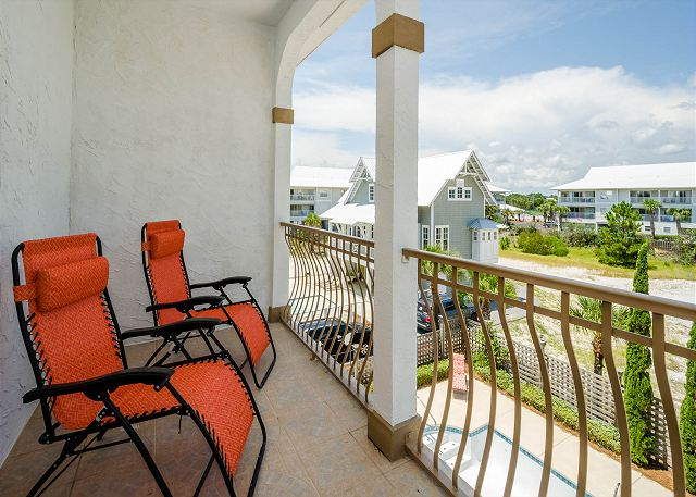 Seagrove 156 chivas lane east unit vacation rentals in for 18 floor balcony blue october