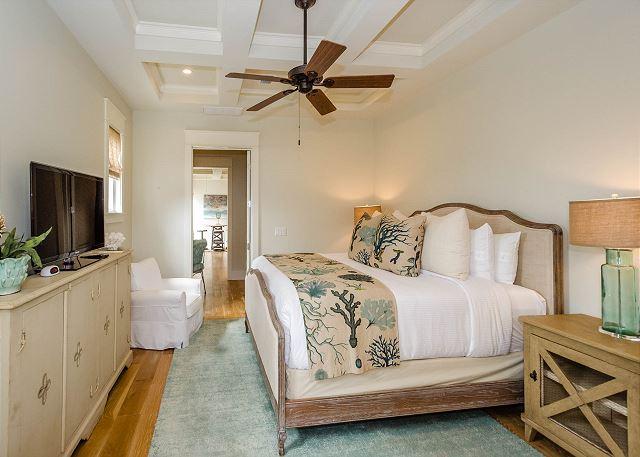 Second Floor: Master King Bedroom