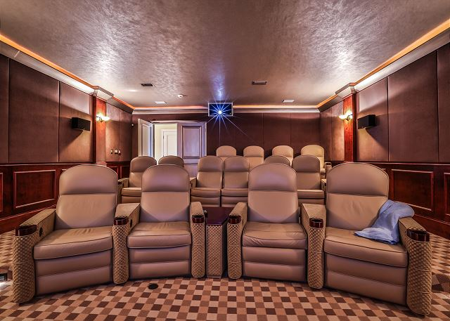 First Floor: Movie Theater Room