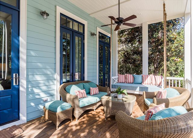 First Floor: Front Porch