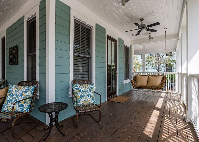 Porch with Swing