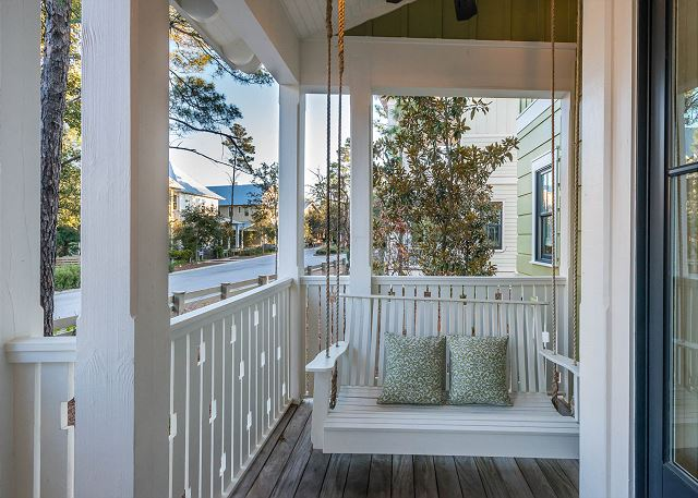 First Floor: Front Porch Swing