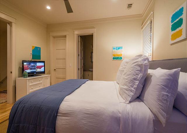 Second Floor: Queen Bedroom