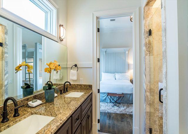 Second Floor: Bunk Shared Bathroom