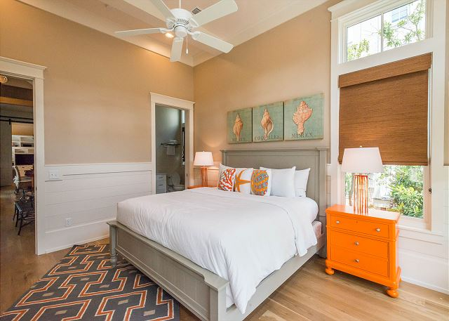 First Floor: King Bedroom with Private Bathroom