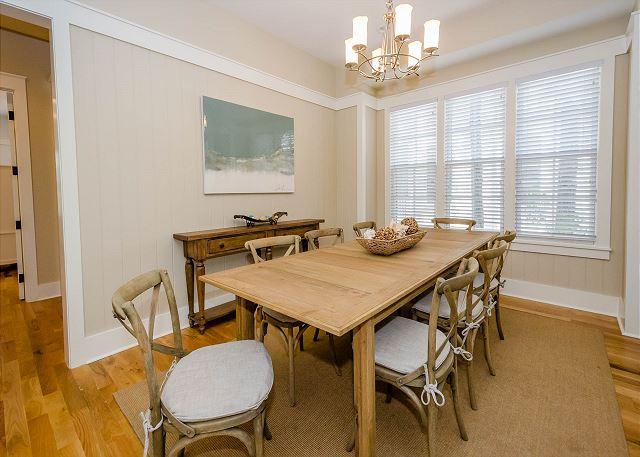 First Floor: Dining Room