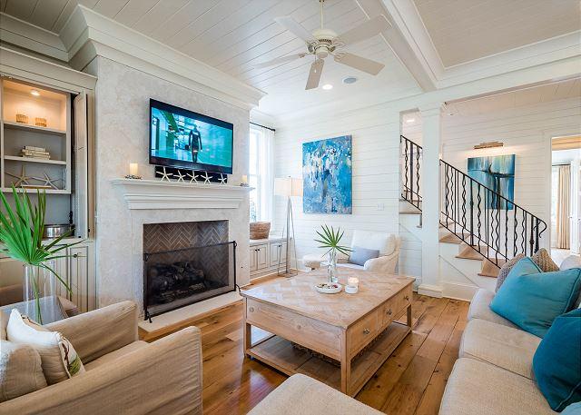 Second Floor, Living Room