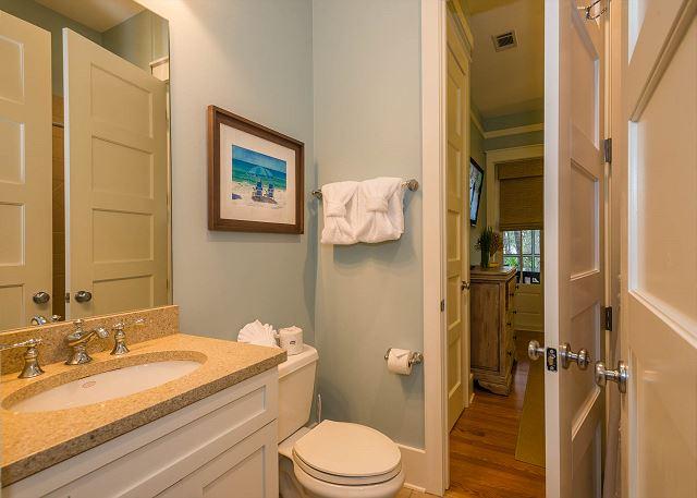 First Floor: King Bedroom Private Bathroom