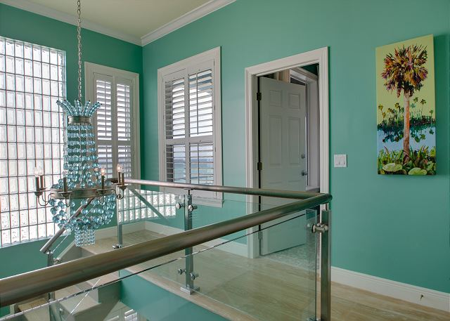 Third Floor: Stairs