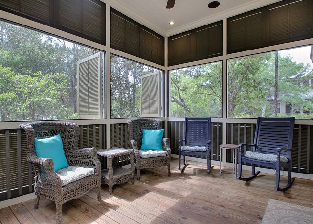 First Floor: Screened Porch