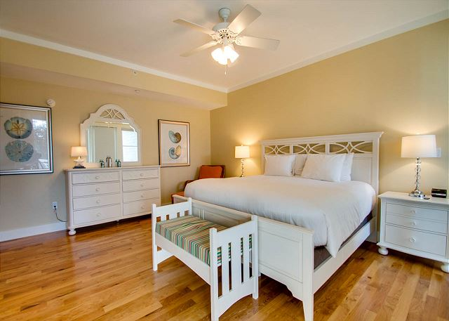 First Floor: Master Bedroom