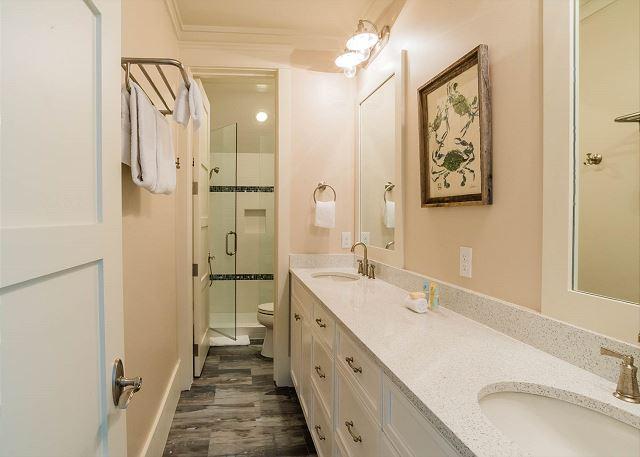Third Floor: Shared Bathroom