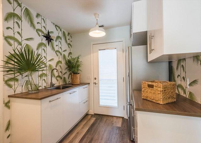 First Floor: Mini Kitchen With Full Fridge