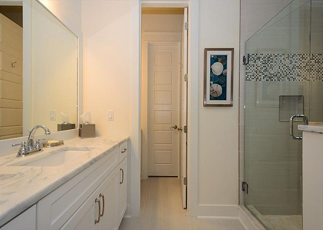 Second Floor: Shared Guest Bathroom