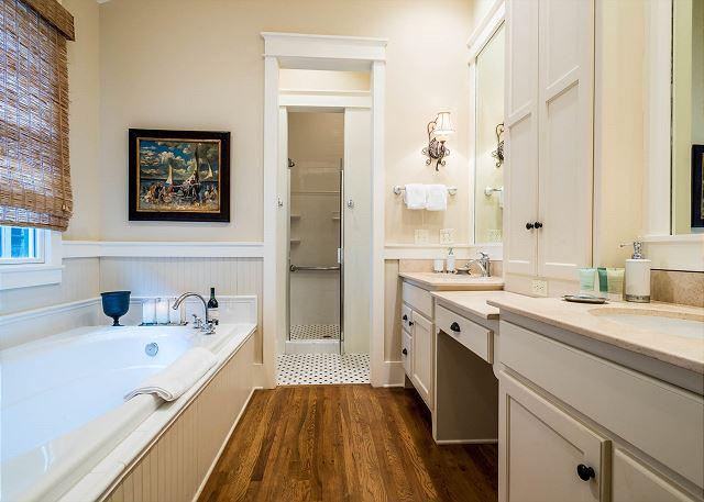 First Floor, Master Bathroom
