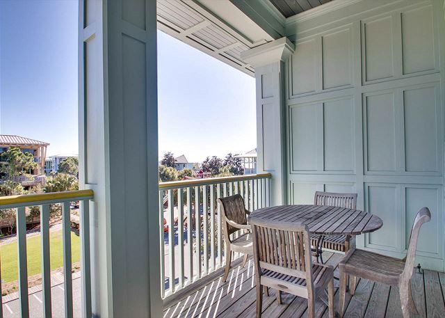 Second Floor: Private Master Porch