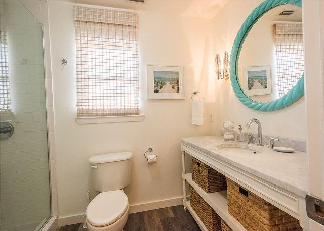 First Floor: Shared Full Bathroom Shower Only