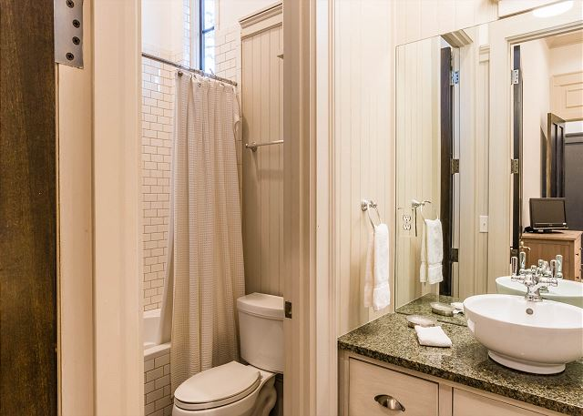 First Floor, Guest Bathroom