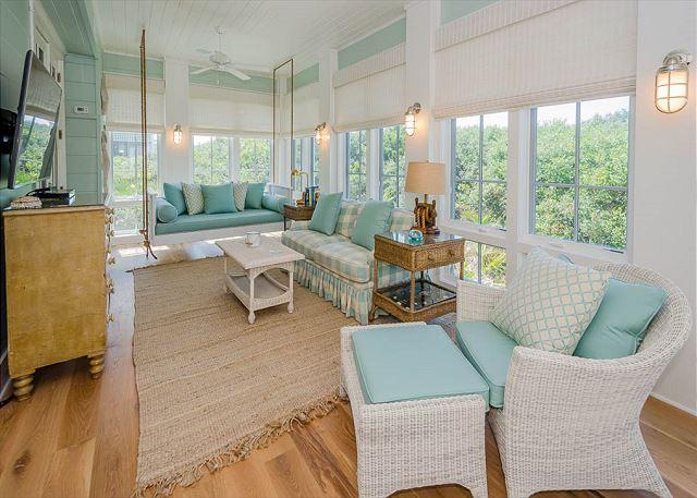 Living Room off Master Bedroom