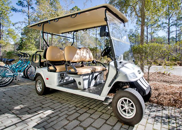 6 Seater Golf Cart Included!