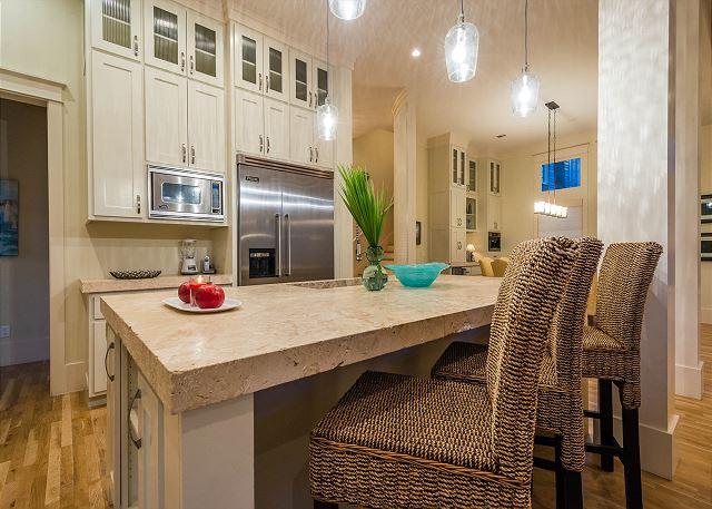 First Floor: Kitchen Bar