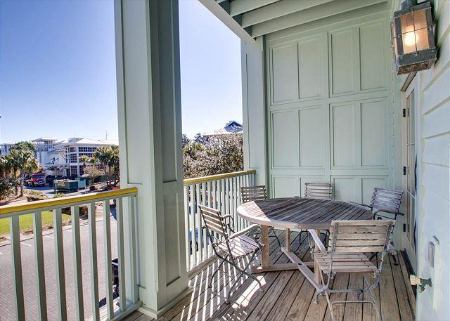 First Floor: Porch Overlooking Watercolor