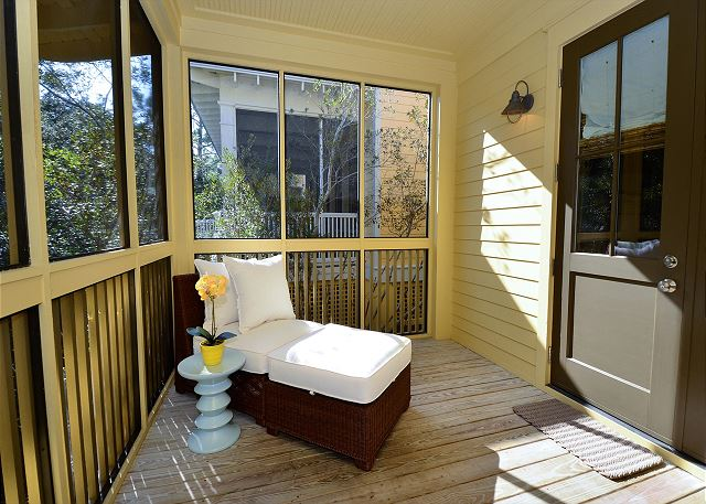 Screened Porch, First Floor