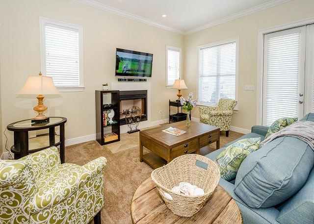 Living Area, Third Floor