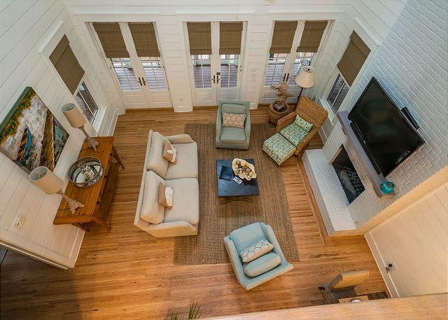 Second Floor: View of Living Room