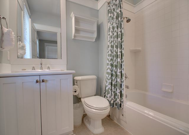 Second Floor: Guest Bathroom